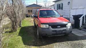 Ford escape or Mazda Tribute Parts Only for parts