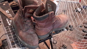 Red wing gore tex leather work boots