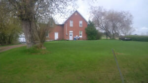 FULLY RENOVATED COUNTRY DUPLEX