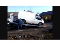 **WANTED** transit vans and parts running, non runner, scrap, salvage