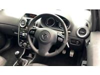 2014 Vauxhall Corsa 1.4T Black Edition 3dr Manual Petrol Hatchback