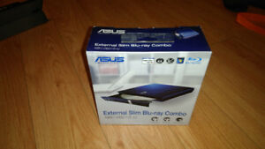 ASUS USB 2.0 6xBlu-Ray Combo External Optical Drive