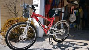 never used mt bike