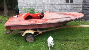 2 seater boat
