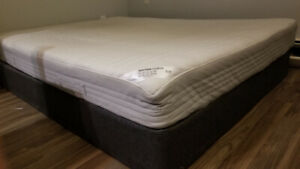 Ikea Hurva mattress and springbox, Queen