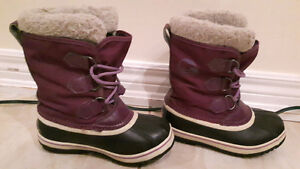 SOREL winter boots for girls size1