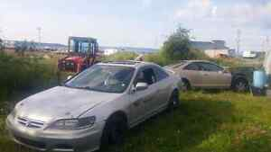 Honda Accord v6 Coupe (2 door)