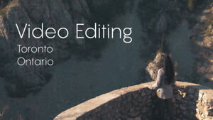 VIDEO EDITING SERVICES - Youtube - Promotional - Event - Drone