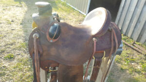 15 inch Wade corriente saddle