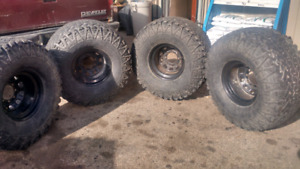 OFF ROAD TIRES AND CRAGAR MAGS  CHEAP