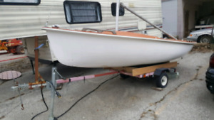 15' Sailboat with trailer