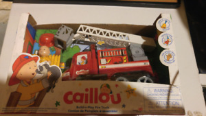 Caillou Fire Truck