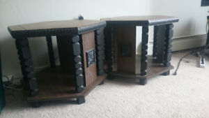 2 Strong and Sturdy Side Tables