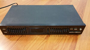 Realistic Ten Band Stereo Frequency Equalizer Windsor Region Ontario image 1