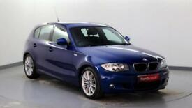 2010 BMW 1 Series 2.0TD 118d M Sport (143 BHP) Diesel blue Manual