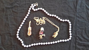 Joan Rivers Pins & Necklaces $15 each