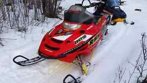 skidoo and truck for sale