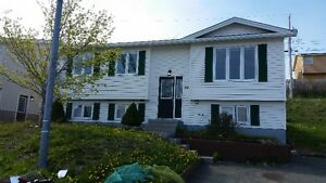 nice 3 bdrm house for rent close to MUN, CONA & Marine Inst.