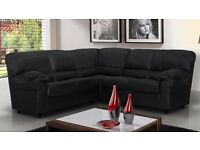 Candy sofas / 3+2 seater set or corner sofa /black, brown,cream or red