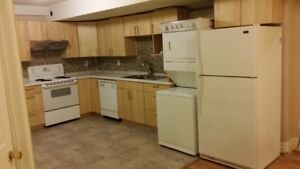 $1400 large 1400 sq feet furnished 1 bedroom basement suite with