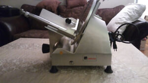 Industrial meat slicer with 12 inch blade for sale