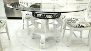 Majestic Glass Dining Table