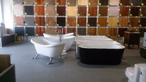 SHOWERS-TUBS- TOILETS-  NATURAL STONE SINK- AND MORE ON SALE!