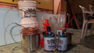 Beer or wine  homebrew gear, carboys, growlers, pots, etc.