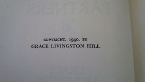 3 Novels by Grace Livingston Hill, 1939, 1940 Kitchener / Waterloo Kitchener Area image 4