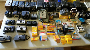 VINTAGE CAMERA COLLECTION over 150pcs CHEAP***