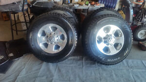 17 inch rims and tires off 2014 Dodge Power Wagon