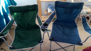 Set of 2 Folding Chairs $10 for Both!