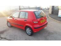 2005 05 HYUNDAI GETZ 1.3 GSi 5 DOOR.FULL MOT.LOW INSURANCE,GREAT MPG.PX WELCOME.