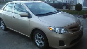 TOYOTA COROLLA 2011 - Price Reduced $8700