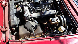 Alfa Romeo spider S3 engine 82 to 89