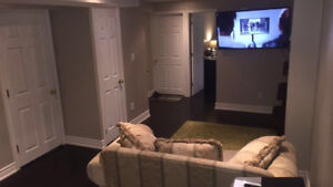 Basement Bedroom Suite For Rent in Semi-detached Home in Oshawa
