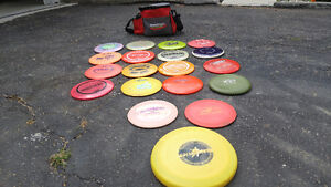 Disc Golf Bag and discs for sale