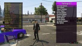 GTA 5 mod menu. All consoles