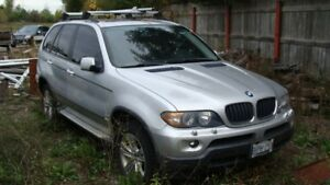 2006 BMW X5 SUV, Crossover not running , but great condition