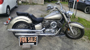 Reduced to $1800.00 - 2003 Vstar 1100 with a 2002 parts bike