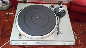 LXI direct drive turntable