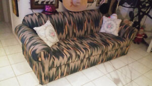 Like New genuine sofa-bed comfortable couch$650.00