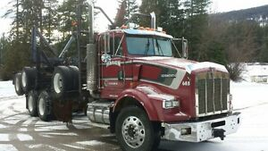 1996 Kenworth T800 Logger For Sale