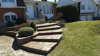 UNISTONE DRIVEWAYS, WALKWAYS, STEPS AND LANDINGS, AND MUCH MORE