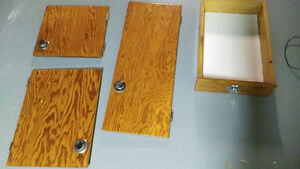Lot of 22 Pieces - 1959 Wood Kitchen Cabinet Doors and Drawers!!