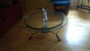 3 Nice Wrought Iron Tables