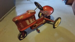 ANTIQUE PEDAL AJAX TRACTOR