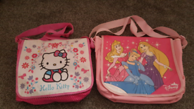 Children's school bag, hello kitty and Disney princess