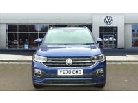 2020 Volkswagen T-Cross 1.0 TSI 115 R-Line 5dr DSG Petrol Estate Auto Estate Pet
