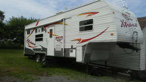 Fifth wheel - utilitaire/toy hauler - 2008 - St-Mathieu